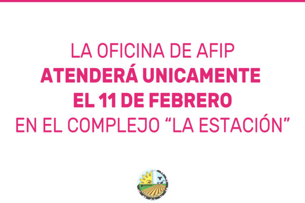 COMUNICADO AFIP