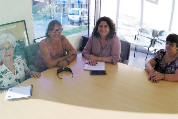 Paula Mitre se reunió con la Federación de Cooperadoras Escolares del Departamento Vera