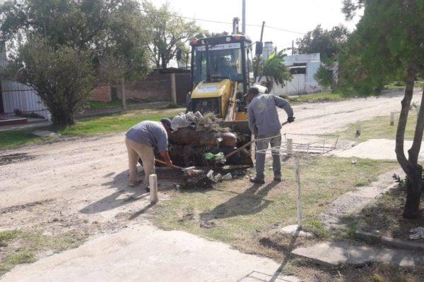 Trabajos de mantenimiento en distintos puntos de la ciudad