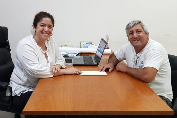 La Intendente entregó un aporte para la realización de la «Copa de Verano»