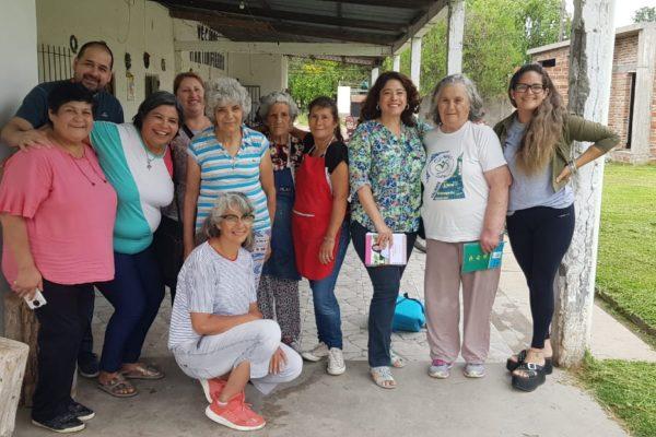 La Intendente se reunió con la Comisión de la Vecinal Martín Fierro