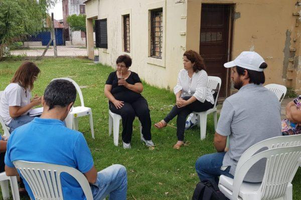 Reunión en la Fundación Fundaluz para la continuidad del Proyecto «PROHUERTA-Fundaluz 2020»