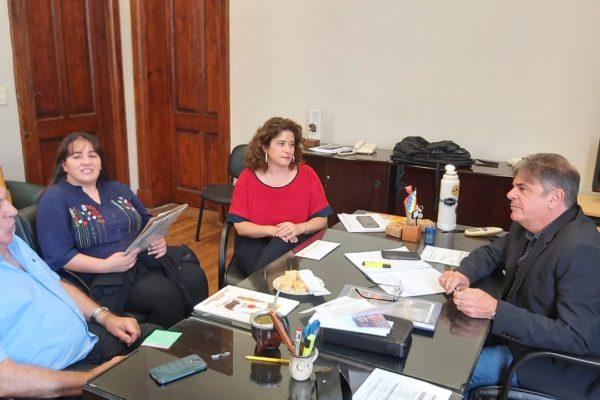 Paula Mitre realizó varias gestiones en la Capital Provincial