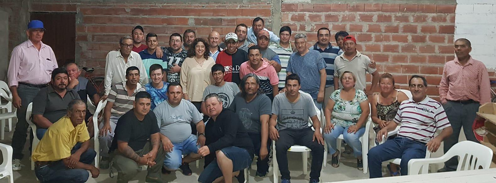 Paula Mitre se reunió con integrantes del Sindicato de Empleados Municipales